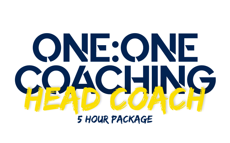 1:1 with Head Coach(5-hour package)